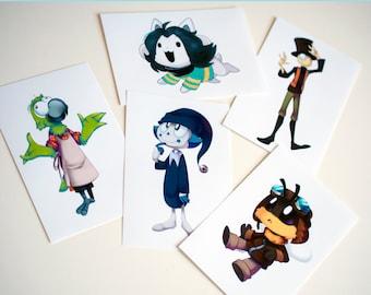 Sorted Mini Prints