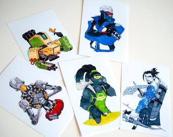 Overwatch Mini Prints