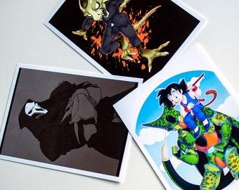 Sorted Postcards
