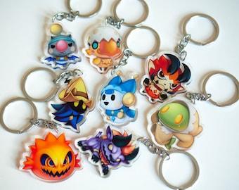 World of Final Fantasy keychains