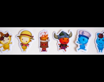 Ni no Kuni II: Revenant Kingdom Higgledies Stickers