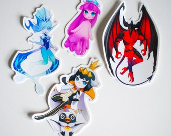 World of Final Fantasy Stickers