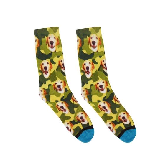 Leowchen Dog Heart Paws Pattern Men-Women Adult Ankle Socks Crazy Novelty Socks