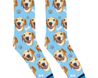 DivvyUp Socks - Custom Dog Socks - Put Your Dog on a Sock!