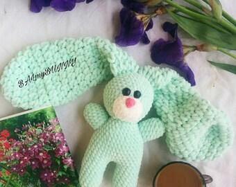 Soft Crochet Bunny For Sleep Baby