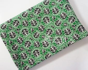 90*140 Cm/35*55 Starbuck Printed Polyester Cotton Canvas Fabric For  Curtains Bags Sofa Textiles