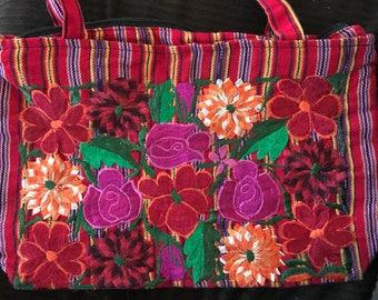 Ebroider flower hand purse