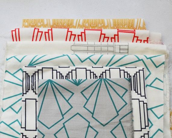 10Pcs Mix Cotton Square Fabric Material Value Bundle Scraps Offcuts Quilting