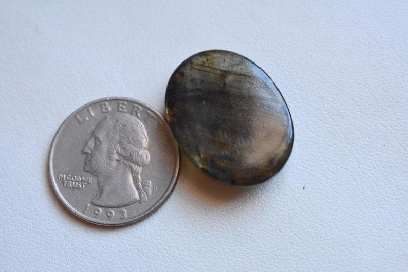Hand Polished #4775 26x20x5 mm  Labradorite cabochon Flashy Labradorite labradorite gemstone cabochon