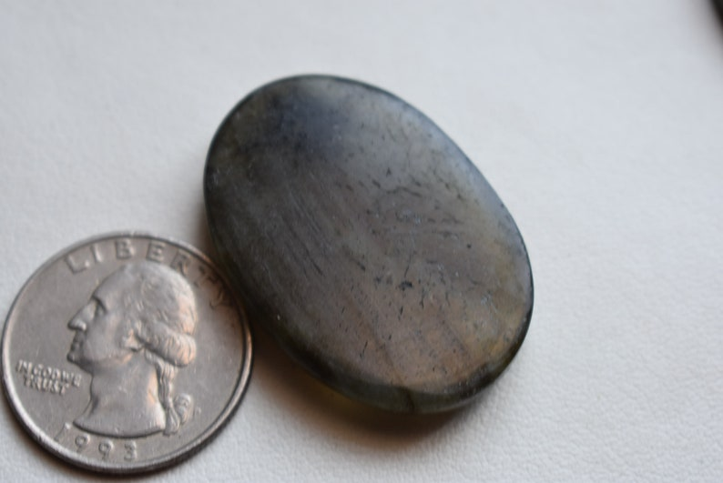 Hand Polished #5009 Flashy Labradorite 37x25x6 mm Labradorite cabochon labradorite gemstone cabochon