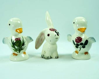 Plichta Ceramic Ducks & Rabbit