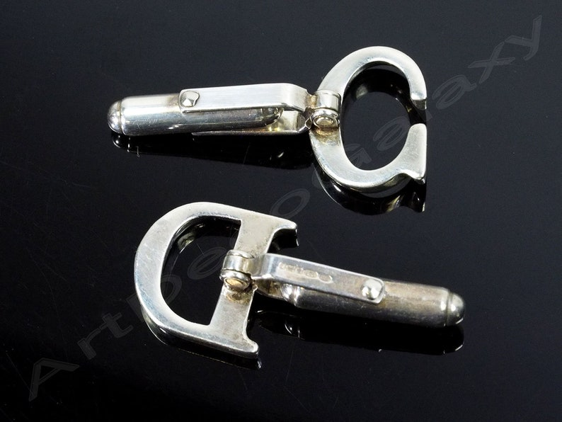 Mappin /& Webb Sterling Silver Cuff Links Initials CD