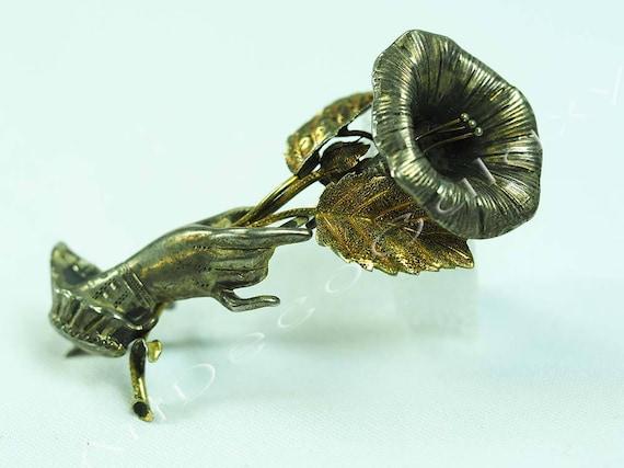 Antique Silver Novelty Brooch