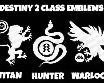DESTINY Game HUNTER Logo Emblem Decal Sticker Bungie