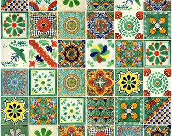 Mexican Tile Etsy - 4 inch mexican tile