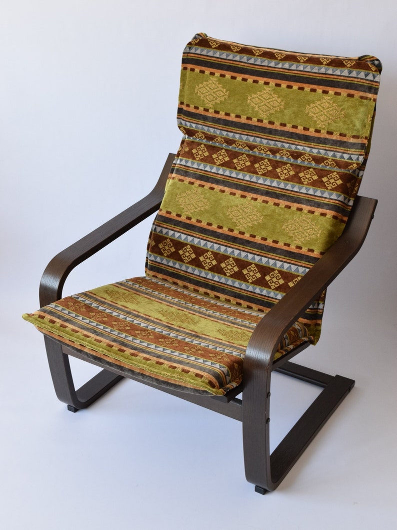 Poang Chair Cushion Cover F11 Ikea Poang Chair Armchair Etsy