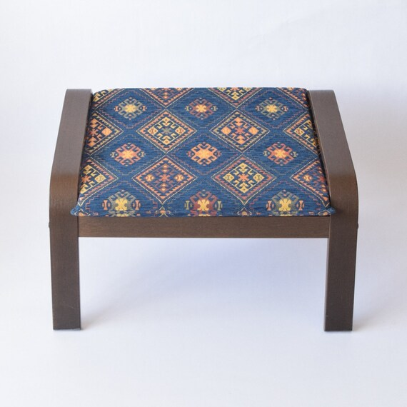 Ikea Poang Ottoman Repose Pieds Tissu Housse F15