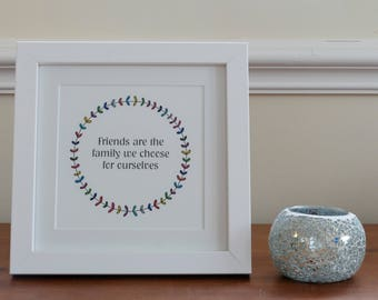 Friendship gift- unframed