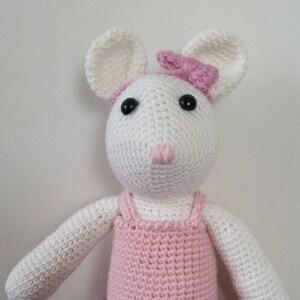 diddlisha crochet Dbeads mouse crochet with beads - YouTube   300x300