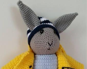 Hand Made Crochet Rabbit Toy - Jack
