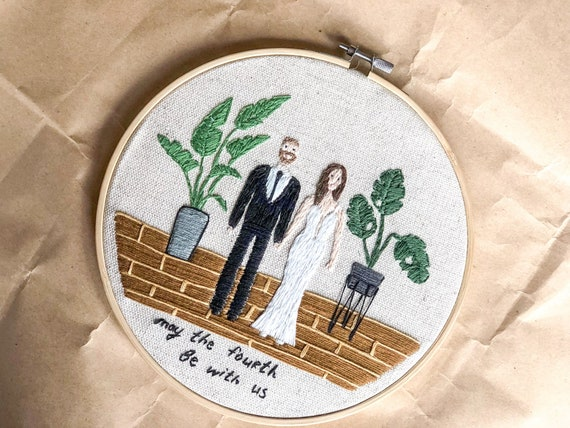 Art and Collectables Home and Living Embroidered FAMILY sign Embroidery Decor Family Sign Family Christmas Gift Family Gift