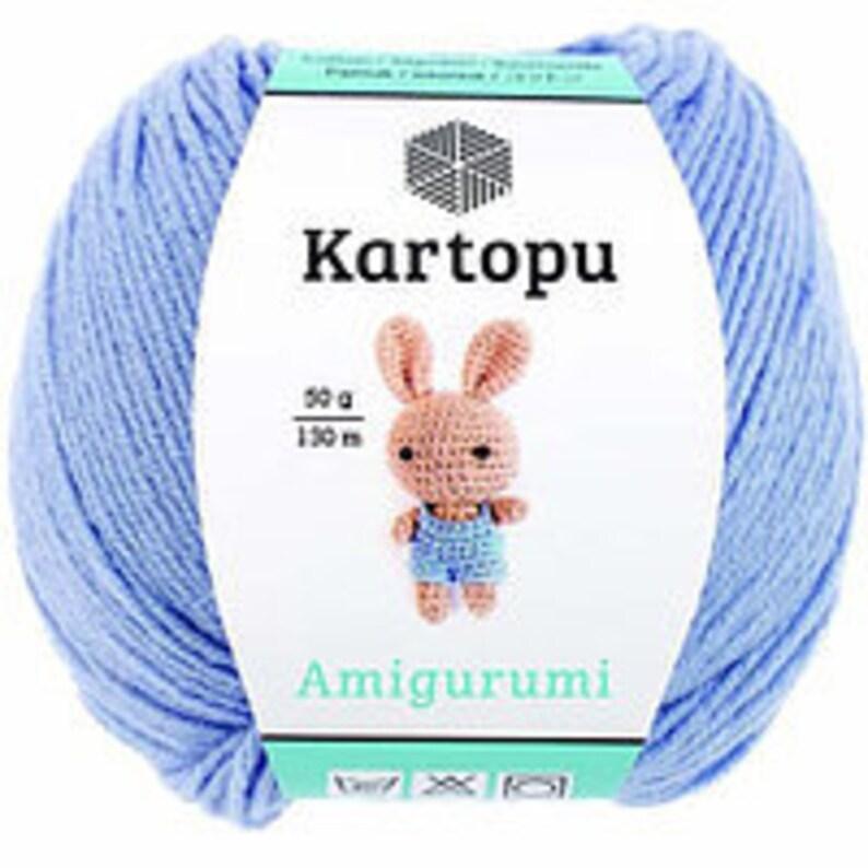 Amazon.de: 3 Knäuel Kartopu Amigurumi insgesamt 50 g / 142 yards ... | 794x794