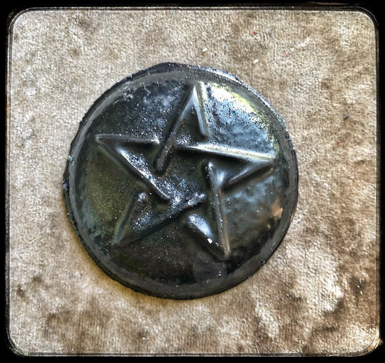 The waxorcist sacrificial blood scented wax melt soy gothic witch pentagram mini collection halloween