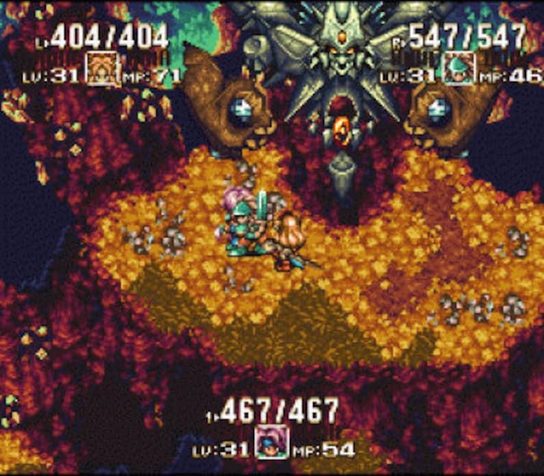 Secret of Mana 2 Seiken Densetsu 3 SQUARESOFT RPG | Etsy