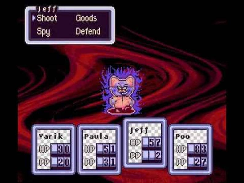 Earthbound: Halloween Hack (SNES) *Radiation AKA Toby Fox's first game!*