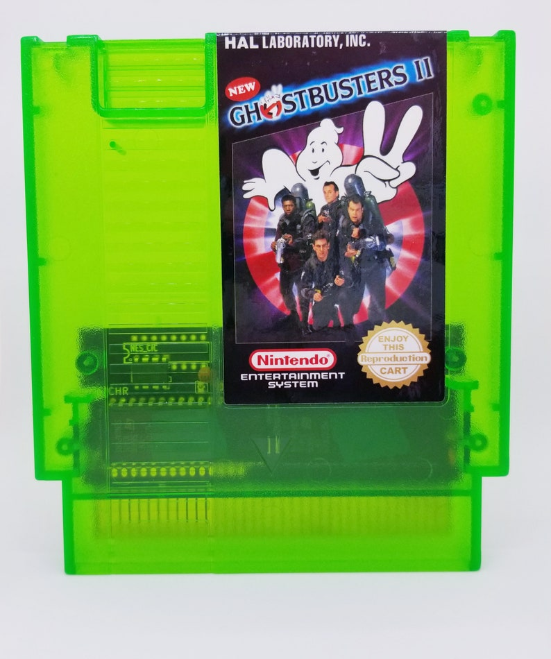 New Ghostbusters II (NES) *Bustin' ghosts makes me feel good!*