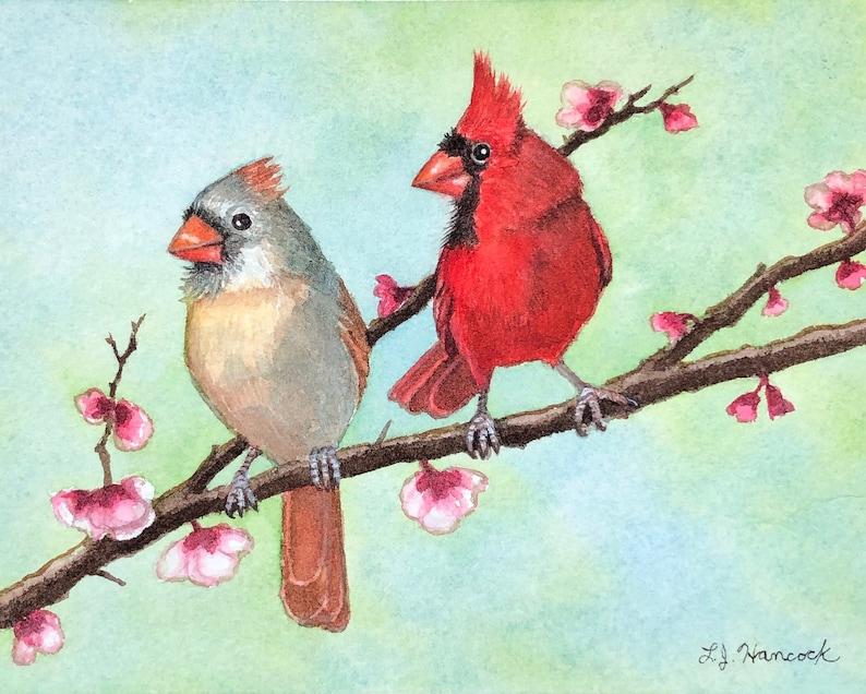 Two Cardinals Print