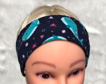 Narwhal athletic headband