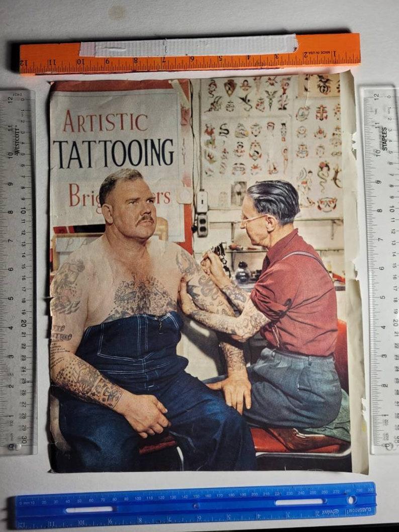 1950/'s ART TATTOO MAN