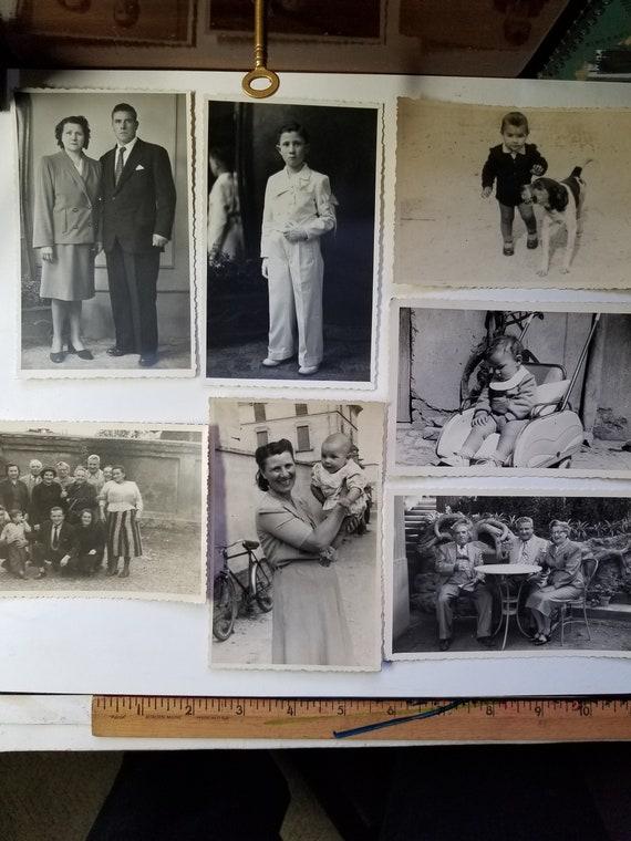 1948 to 1951 ITALY ITALIAN FAMILY photo photography