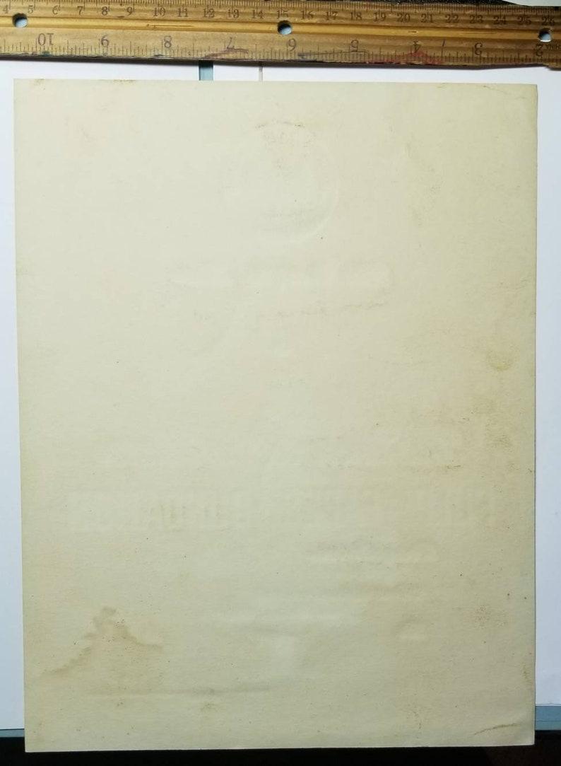 1961 university of MAINE PULP and PAPER award document original print