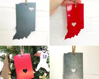 Indiana Christmas Ornament