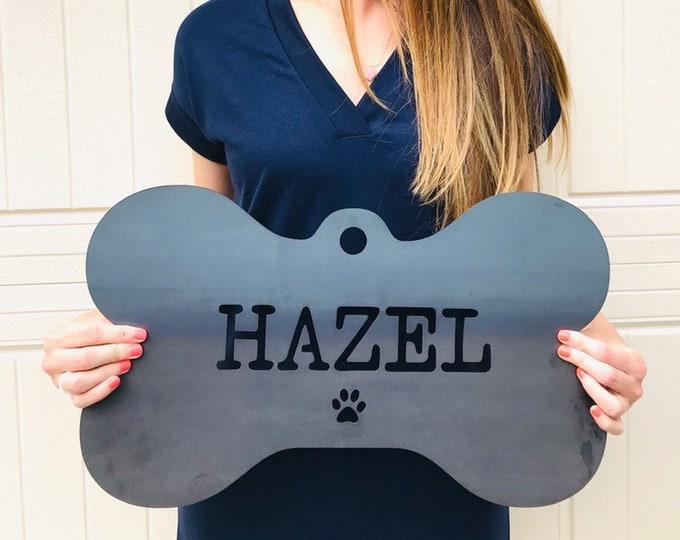 Custom Dog Tag | Dog Tag Sign | Dog Tag for Wall | Dog Name Sign | Metal Dog Tag