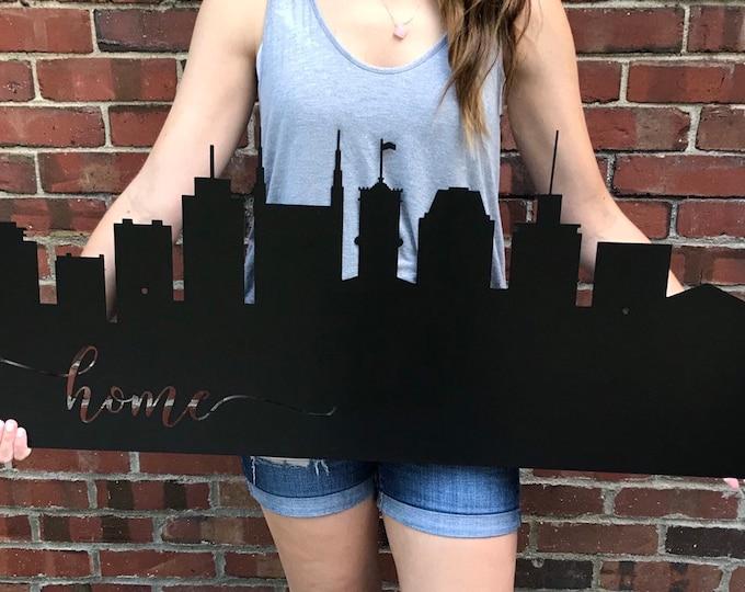 Metal Indianapolis or Nashville Skyline