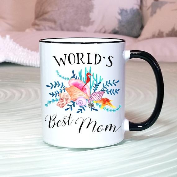 Best Mom Mug Mom Birthday Gift Worlds Best Mom Gift Etsy
