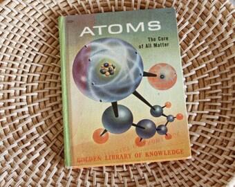Kids Atoms Science Homeschool Book