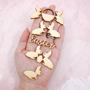 My Baby wood words My Baby Wood Cutouts LMBC0001W laser cut wooden embellishments for scrapbooking and crafting