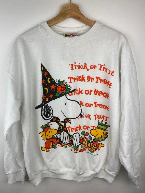 Vintage Snoopy Halloween Crewneck