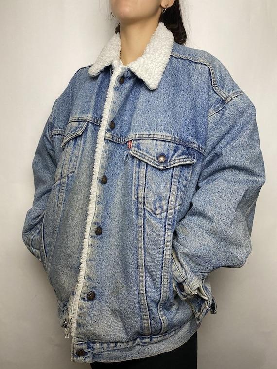 Vintage Levi's Sherpa Jean Jacket