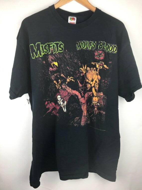 Vintage Misfits Wolfs Blood Shirt