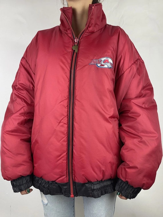 Reversible Colorado Avalanche Puffer Jacket