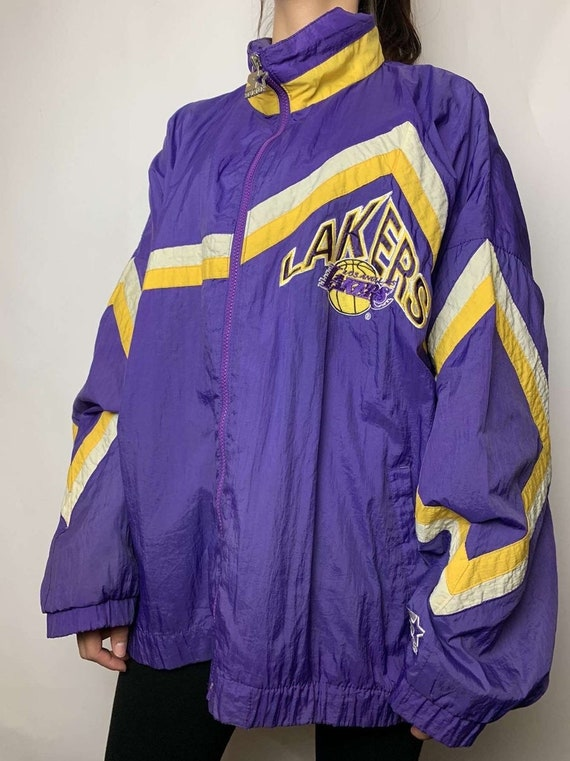 Vintage Los Angeles Lakers Starter Windbreaker