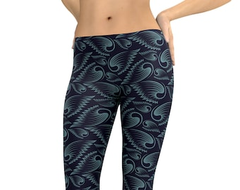 702f3974f5 Angel wings Leggings or Capris Woman's Leggings Printed Leggings Yoga  Workout Exercise Pants Crazy Unique Leggings Pants