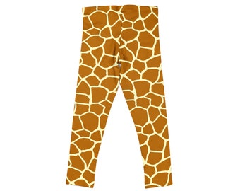 85153e441516c Trendy Kid Clothes Child Youth Leggings Printed Play Workout Exercise Stretch  Pants Toddler 2T - Girls 14 yrs Gymnastics Dance Giraffe