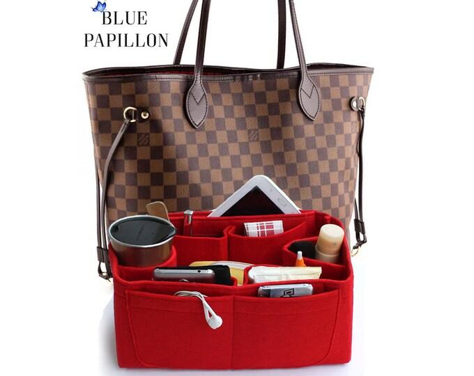 991e46cb0e Bag and purse organizer, bag insert organizer, louis vuitton bag organizer,  felt bag
