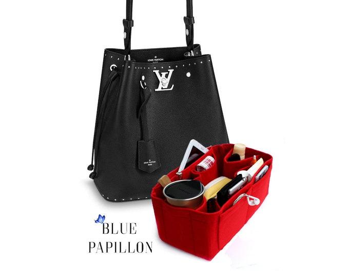 b0e352dca8 Lockme Bucket organizer, louis vuitton bag purse organizer, bag in bag, Lockme  Bucket